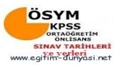 2012 KPSS Ortaöğretim (lise) Sınav Giriş Belgesi Ne zaman Gelir?