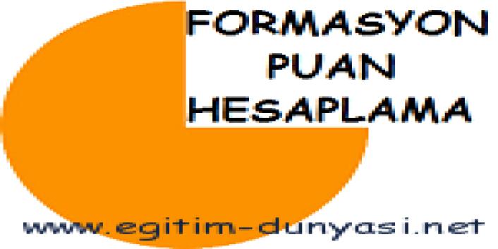 Formasyon Puanı Hesaplama ALES ve Not Ortalaması ile