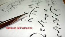Osmanlıca Kursuna Beklenen İlgi