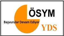 2015 YDS Başvuru Devam Ediyor