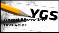 2015 YGS Öncesi Öğrencilere Tavsiyeler