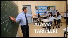 Dershane Öğretmen Atama Tarihleri 2015