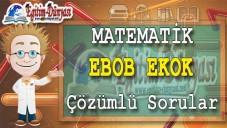 EBOB EKOK Çözümlü Sorular ve Formüller