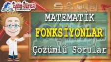 Fonksiyonlar Çözümlü Sorular ve Formüller