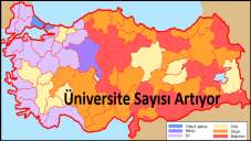Üniversite Sayıları ve Yeni Açılacak Üniversiteler