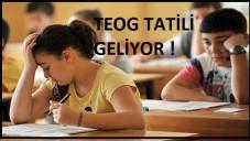 Öğrencilere Uzun TEOG Tatili
