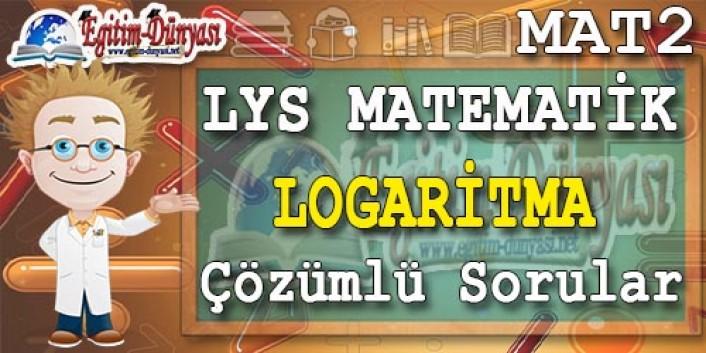 Logaritma Çözümlü Sorular ve Formüller