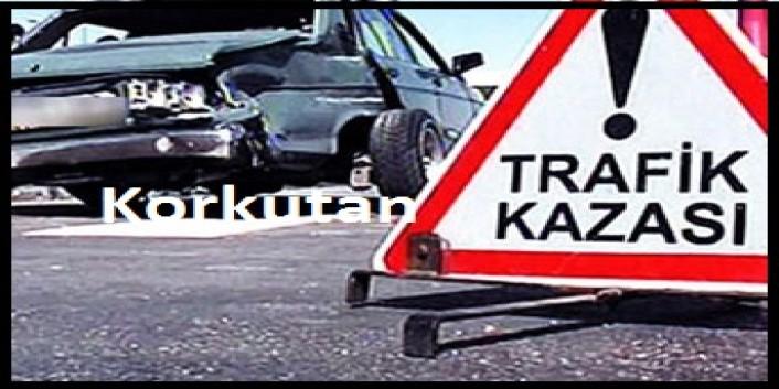 Öğretmenler Trafik Kazasında Korkuttu