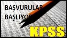 2015 KPSS Başvuruları Ne Zaman Başlıyor ?