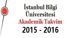 İstanbul Bilgi Üniversitesi Akademik Takvim 2015 2016