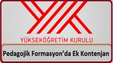 2015 2016 Pedagojik Formasyon Ek Kontenjan