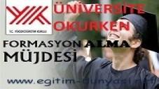 Üniversite Okurken Formasyon Almak 2014
