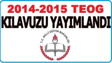 TEOG 2014-2015 Yılı Ortak Sınavlar e-Kılavuzu Detaylarıyla