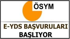 2015/2 e-YDS Sınav Başvuruları Başlıyor