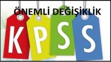 2015 KPSS Öncesi Önemli Değişiklik Tıkla Öğren
