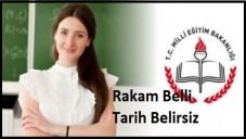 MEB  47 Bin Öğretmen Ataması Yapacak 2015