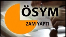 """""""ÖSYM Sınavlara Genel Zam Yaptı"""""""