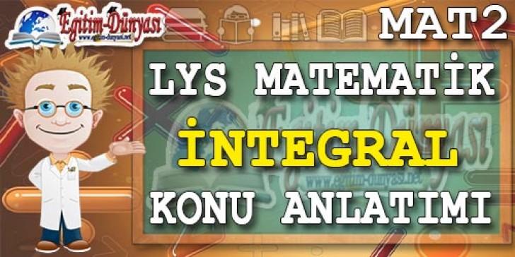 İntegral Konu Anlatımı Video