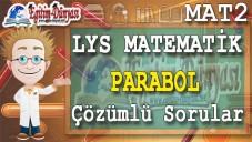 Parabol Çözümlü Sorular ve Formüller
