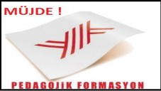 2015-2016 Pedagojik Formasyon Açıklaması geldi